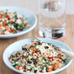 Super Salad Alert: Grated Cauliflower!