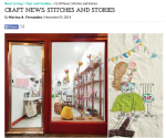 """Media Feature: """"Sew and Tell"""" in Real Living"""