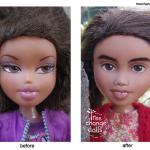 """Dolls get a """"makeunder"""" down under"""