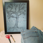 Jean Therapy (or making art from old jeans)