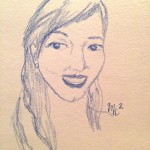A Sketch A Day: Throwback Selfie (Day 13)
