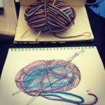 A sketch a day: Yarn (Day 2)
