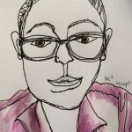 A Sketch a Day: Selfie (Day 6)