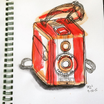 A Sketch a Day: Camera (Day 4)